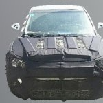 Ssangyong X100 spied China front