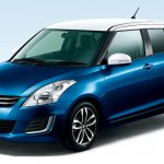 Suzuki Swift Style Blue with white roof