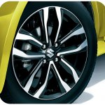 Suzuki Swift Style alloy wheel specially cut
