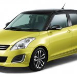 Suzuki Swift Style yellow with black roof