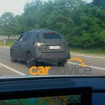Suzuki iv-4 production version spied rear quarter