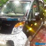 Tata Nano Twist F-Tronic AMT spied on test front quarter