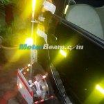 Tata Nano Twist F-Tronic AMT spied on test rear wheel