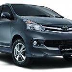 Toyota Avanza Luxury front three quarters