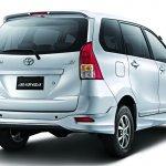 Toyota Avanza Luxury rear