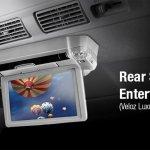 Toyota Avanza Veloz Luxury rear seat entertainment