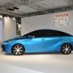 Toyota FCV sedan official image left side
