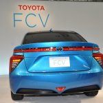 Toyota FCV sedan official image rear