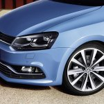 VW Polo facelift accessories - alloy wheel