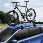 VW Polo facelift accessories - bicycle carrier