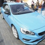 Volvo V60 Polestar front three quarters at the 2014 Goodwood Festival of Speed
