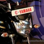 Yamaha FZ FI V2.0 black headlamp