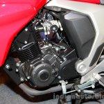 Yamaha FZ FI V2.0 red engine