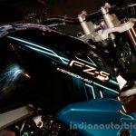 Yamaha FZ-S FI V2.0 blue fuel tank