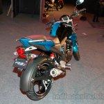 Yamaha FZ-S FI V2.0 blue rear three quarter right