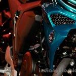 Yamaha FZ-S FI V2.0 blue tank scoop