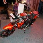 Yamaha FZ-S FI V2.0 red front three quarters