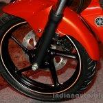 Yamaha FZ-S FI V2.0 red front wheel