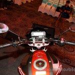 Yamaha FZ-S FI V2.0 red rider's view