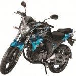 Yamaha FZ-S FI V2.0 side- Astral Blue 2