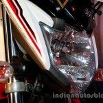 Yamaha FZ-S FI V2.0 white red headlamp