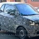 front three quarter of 2015 Smart ForTwo spied