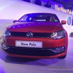 2014 VW Polo facelift India launch live front