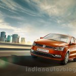 2014 VW Polo facelift India press images front