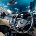 2014 VW Polo facelift India press images interior