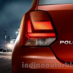 2014 VW Polo facelift India press images taillight