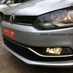 2014 VW Polo facelift TDI spied headlight