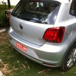 2014 VW Polo facelift TDI spied rear