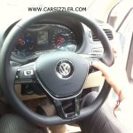 2014 VW Polo facelift TDI spied steering