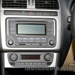 2014 VW Polo facelift center console launch