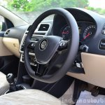 2014 VW Polo facelift first drive cabin