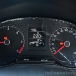 2014 VW Polo facelift first drive cluster