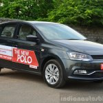 2014 VW Polo facelift first drive front quarter