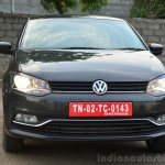 2014 VW Polo facelift first drive front