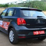 2014 VW Polo facelift first drive rear quarter