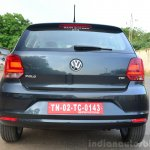 2014 VW Polo facelift first drive rear