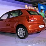 2014 VW Polo facelift rear three quarters left launch