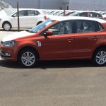2014 VW Polo facelift spied new color side