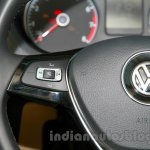 2014 VW Polo facelift volume controls on the steering wheel launch