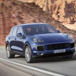 2015 Porsche Cayenne facelift press shots