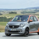 2015 Smart ForFour press shots front quarter