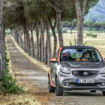 2015 Smart ForFour press shots front
