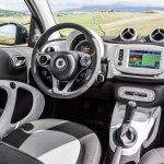 2015 Smart ForFour press shots interior