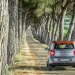 2015 Smart ForFour press shots rear
