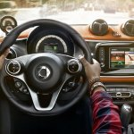 2015 Smart ForFour press shots steering