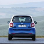 2015 Smart ForTwo press shots rear